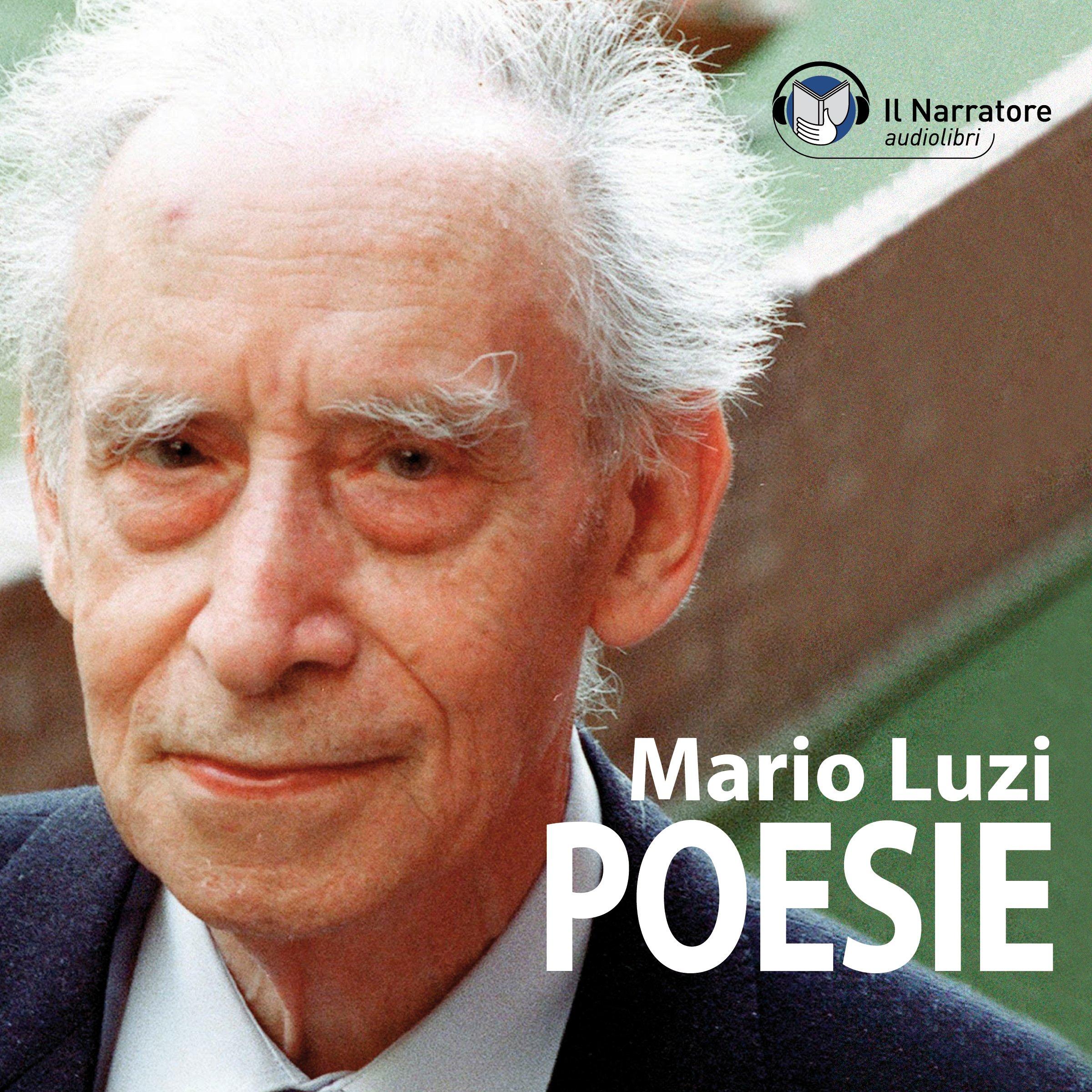 Copertina dell'Audiolibro recitato da Alberto Rossatti, Poesie di Mario Luzi
