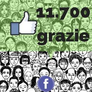 Grazie a chi ci segue sono 11.700 i Fan della pagina Facebook!