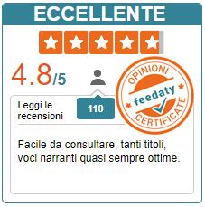 Le recensioni certificate di Feedaty su ilnarratore.com