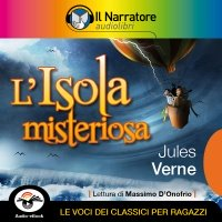 L'isola misteriosa (Audio-eBook)